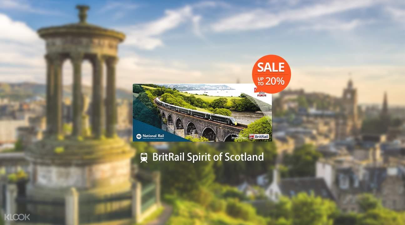 [Sale] BritRail Spirit of Scotland Pass (4 or 8 Days)